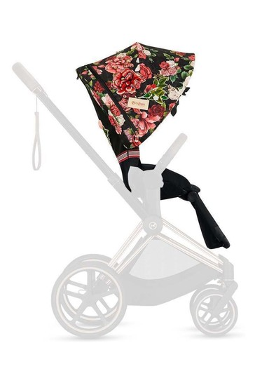 Dark Spring Blossom Priam Seat Pack