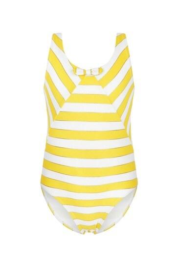 Carrement Beau Girls White Swimsuit