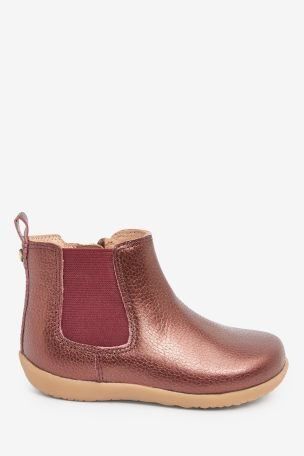 Berry Junior Premium Leather Chelsea Boots (Younger)