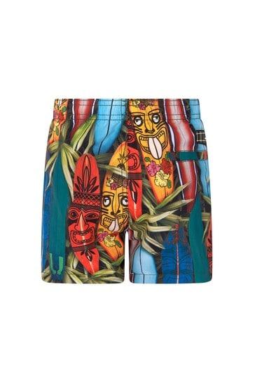 Boys Multicoloured Swim Shorts