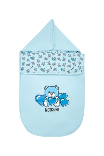 Baby Boys Blue Cotton Nest