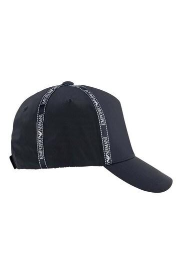 Boys Navy Blue Logo Cap