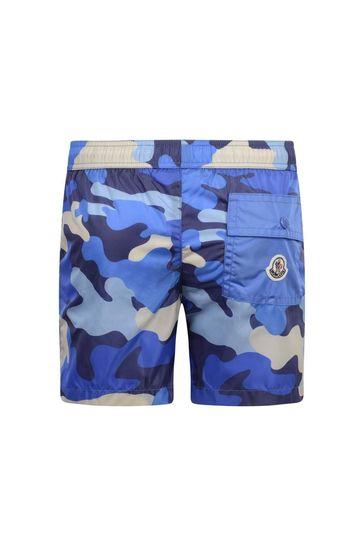 Boys Camouflage Swim Shorts
