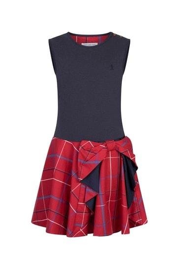 Girls Red Pretty Dress