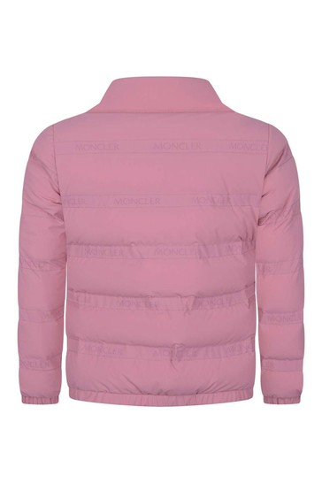 Girls Pink Down Padded Dorine Jacket