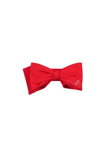 Girls Red Cotton Headband