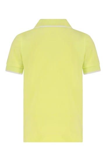 Baby Yellow Cotton Polo Shirt