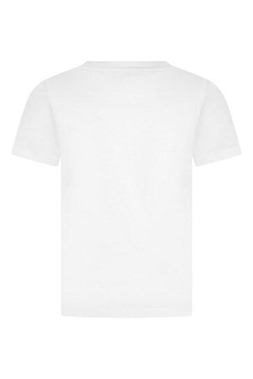 Boys Cotton Gucci Band T-Shirt