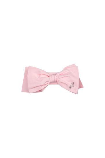 Girls Pink Cotton Headband