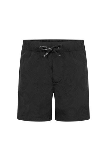 Baby Boys Black Shorts