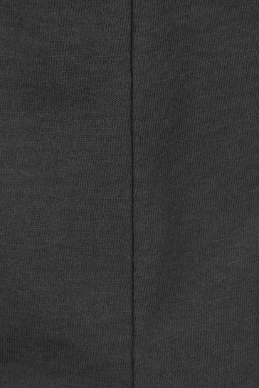 Girls Charcoal Cotton Polaroid Print T-Shirt