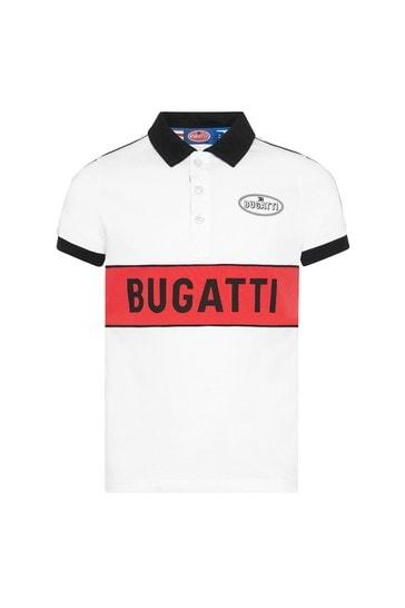 Red Cotton Polo Shirt