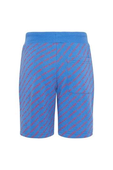 Marc Jacobs Boys Blue Cotton Shorts