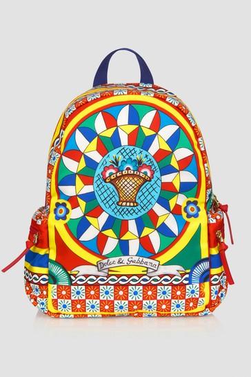 Dolce & Gabbana Girls Multicoloured Leather Bag