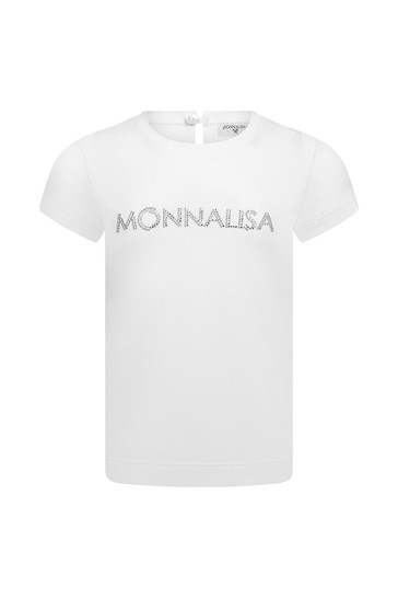 Baby White Cotton T-Shirt