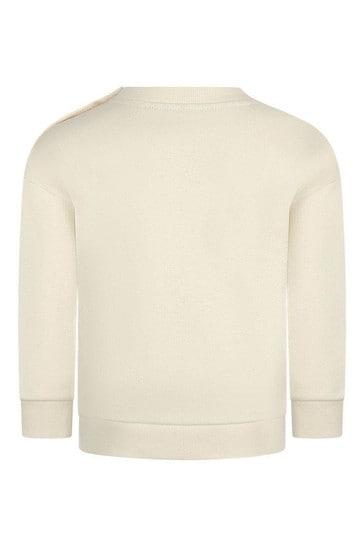 로고 프린트 스웨터