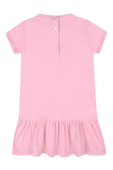 아기 소녀 면 드레스