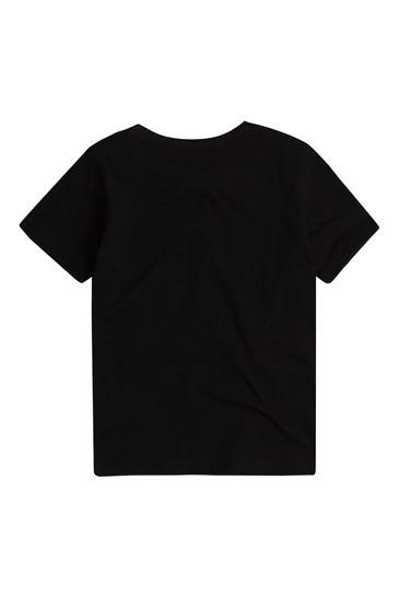 Levi's® Boys Black Cotton Sportswear Logo T-Shirt