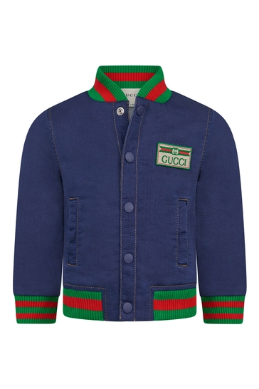 Baby Boys Blue Denim Jacket