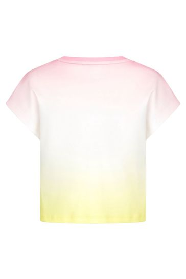 Girls Multicoloured Cotton T-Shirt