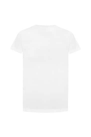 걸스 코튼 티셔츠