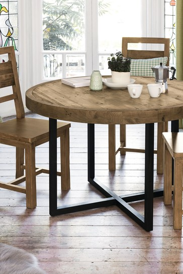 Buy Brooklyn Round Dining Table From Next Usa