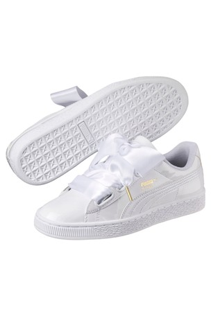 buy online a5c22 e103c Buy Puma® Basket Heart Patent Trainers from Next Germany