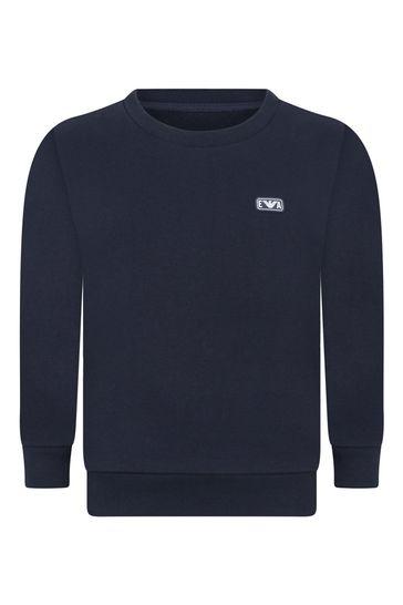 보이즈 코튼 스웨터
