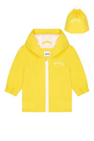 BOSS 베이비 보이즈 옐로우 재킷