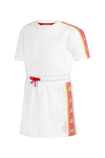 Marc Jacobs Girls White Cotton Dress