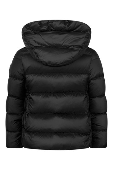Girls Black Down Padded Dortha Jacket