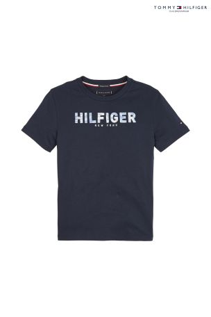 beauty 2018 sneakers official shop Tommy Hilfiger Boys Branded Appliqué T-Shirt