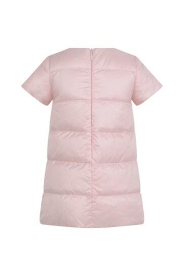 Baby Girls Light Pink Logo Dress