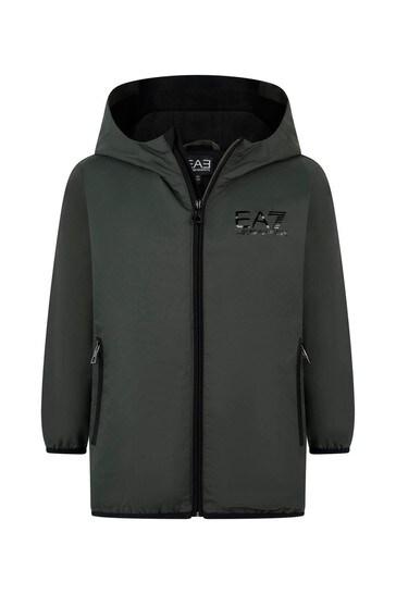 소년 숯 로고 재킷
