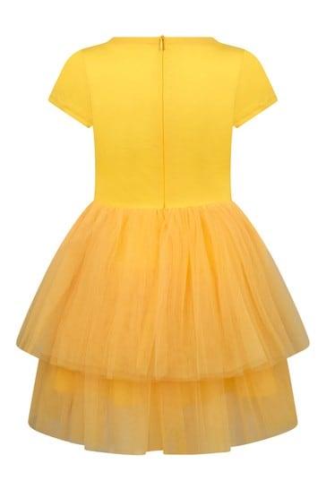 Girls Yellow Dress