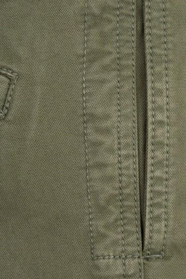 Boys Khaki Cotton Cargo Trousers