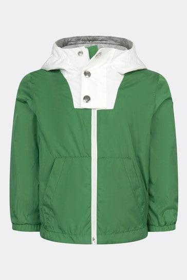 베이비 보이즈 그린 유테크 재킷