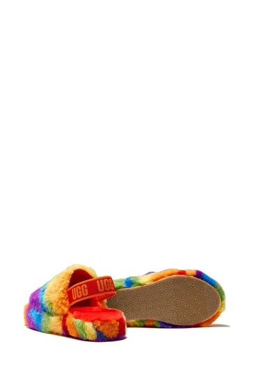 Girls Fluffy Yeah Sandals