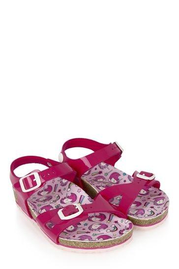 Purple Rio Sandals