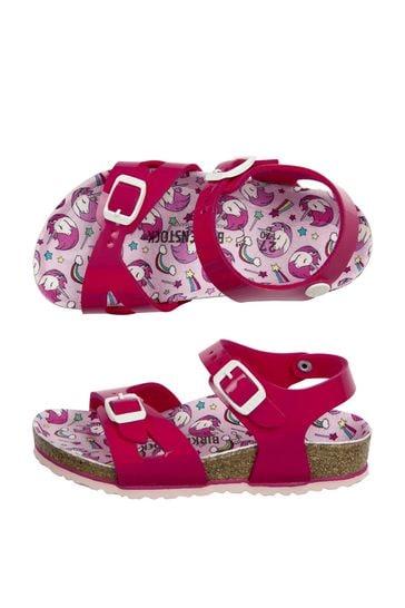 Girls Purple Rio Sandals