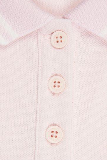 Baby Girls Pink Cotton Shortie