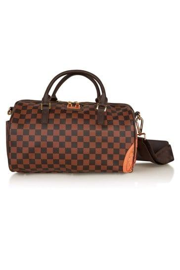 Kids Brown Henny Mini Duffle Bag