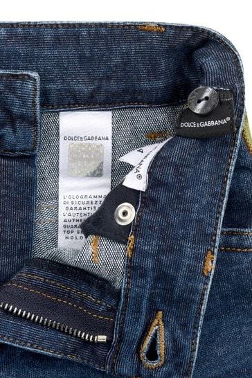 Boys Navy Denim Jeans