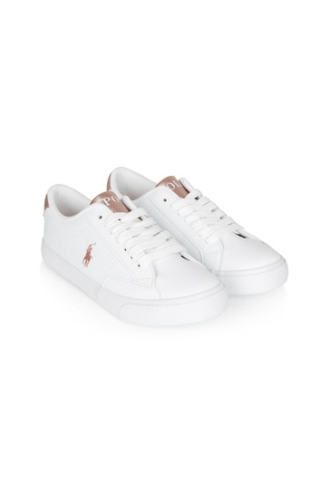 Boys White Theron Trainers
