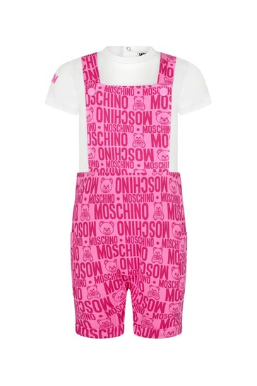 Baby Girls Purple Cotton Outfit