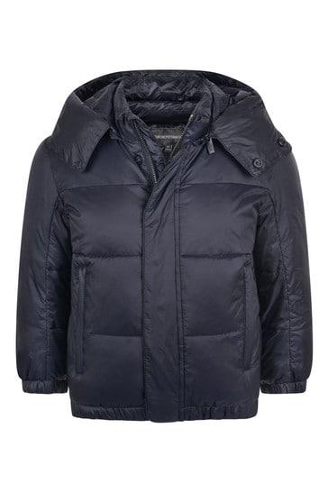 보이즈 네이비 패딩 재킷
