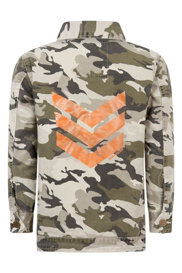 Boys Multicoloured Cotton Jacket