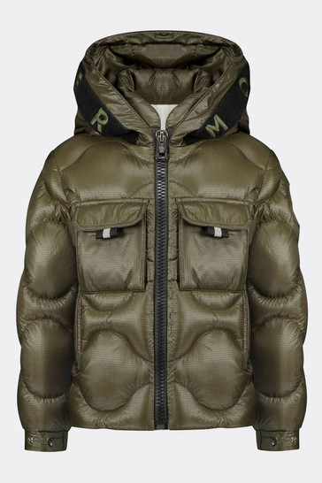 Boys Olive Down Padded Zonzo Jacket