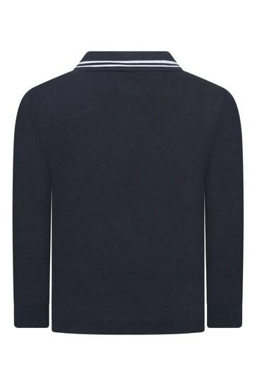 Boys Cotton Pique Polo Shirt