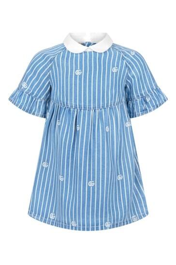 Baby Girls Blue Dress